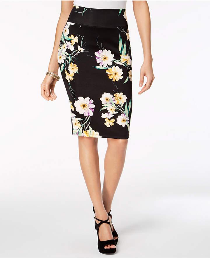 3107c8334 Thalia Sodi Printed Scuba Pencil Skirt, Created for Macy's | Products