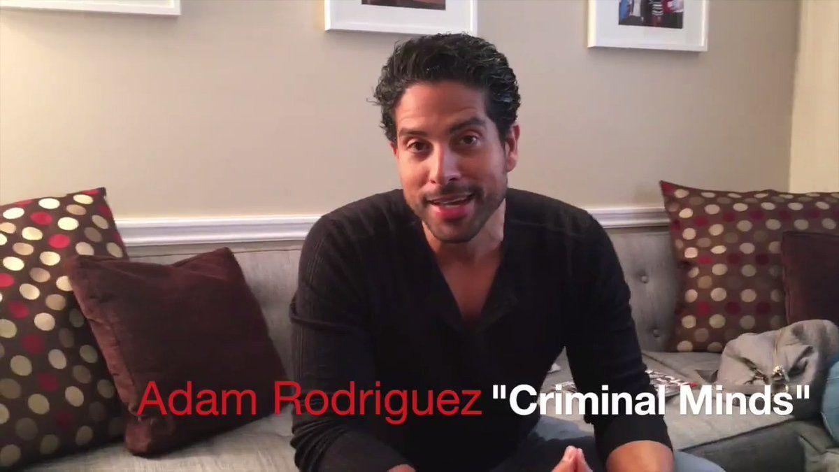 """The Talk on Twitter: """".@_Adam_Rodriguez describes each @CrimMinds_CBS co-star w/ a #hashtag 😂😂 @JoeMantegna @GUBLERNATION @ajcookofficial @Vangsness @aishatyler https://t.co/DfEj5JocSd"""""""