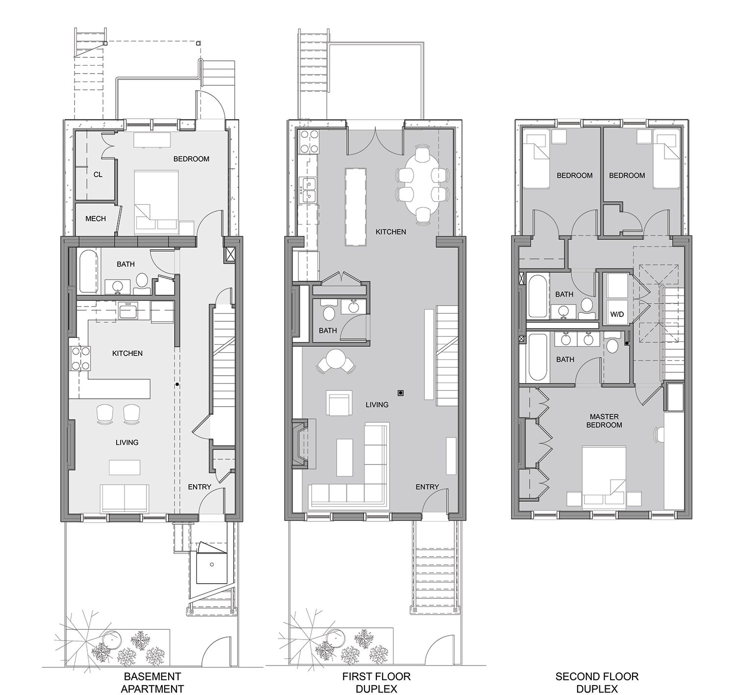 Narrow Lot House Plans Bat Floor