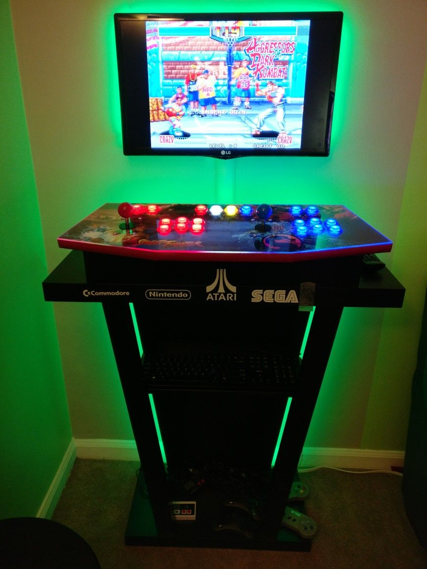 Getting closer to finish! | Pedestal Arcade Cabinet in 2019 | Arcade