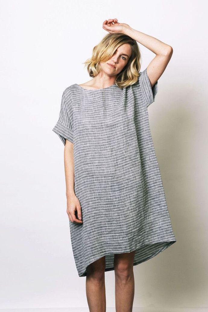 a447da9bfe8 Linen sack dress …