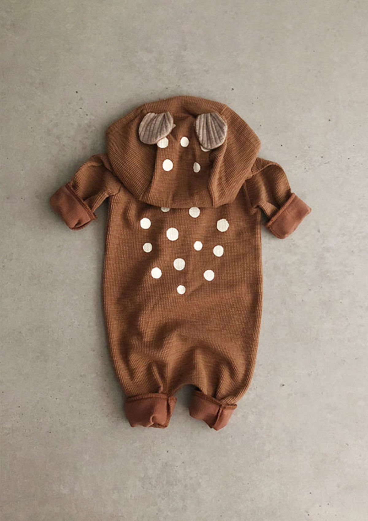 Bambi Suit - 0-6 months / Brown