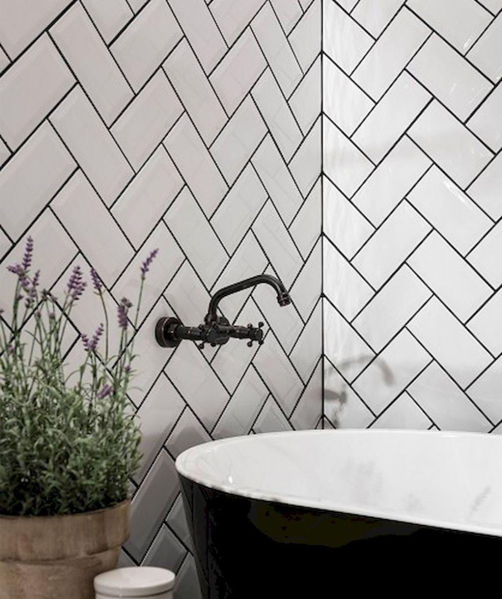 Stunning Bathroom Tile Makeover Ideas (54 | Bathroom tiling and ...