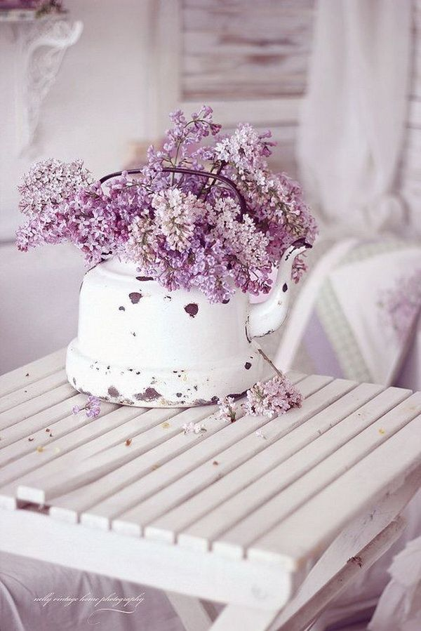 pretty shabby chic decoration inspirations wild flowers shabby rh pinterest com purple shabby chic bedding purple shabby chic furniture