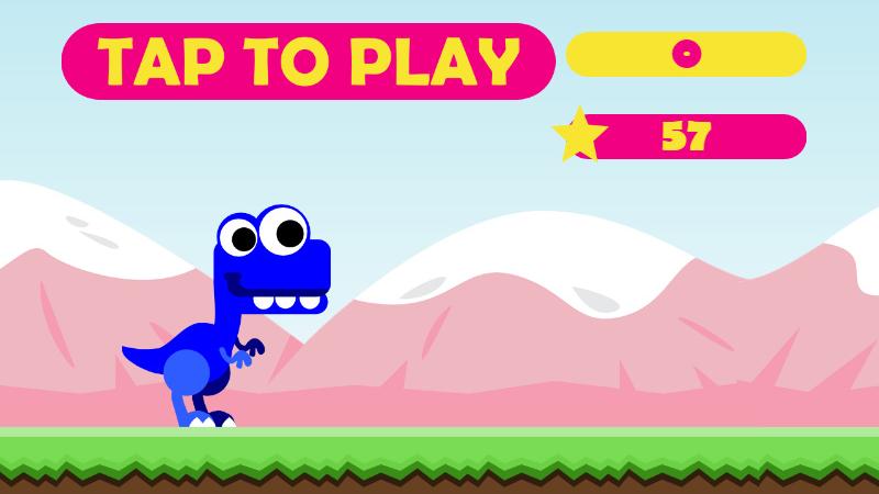 Cute TREX Html5 Mobile Game Tyrannosaurus rex in 2020