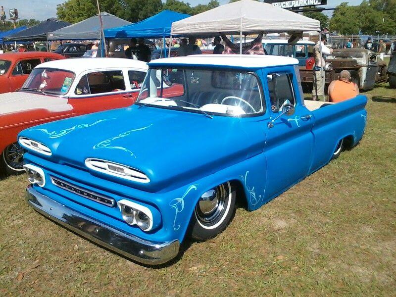 Sweet ride, Don Garltis car show Vintage chevy trucks