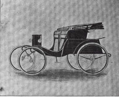 1898 Duryea Physician's Wagon