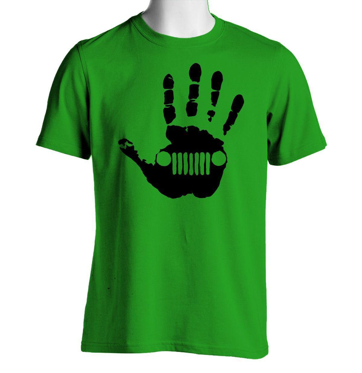 Jeep Hand Print T-Shirt