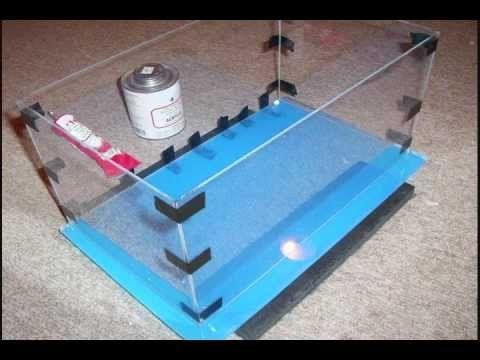 how to build an acrylic aquarium using the gaunt hypo 25 applicator. Black Bedroom Furniture Sets. Home Design Ideas
