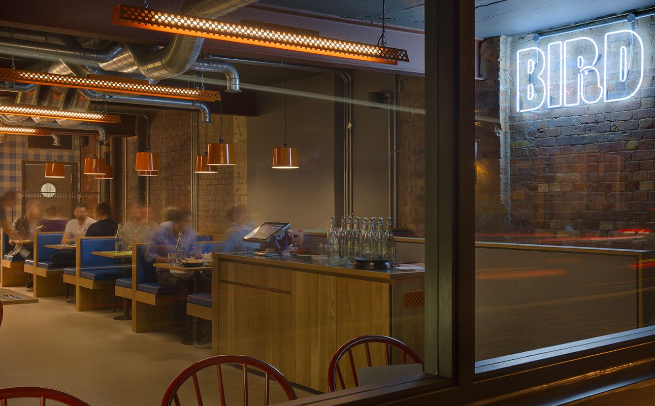 Birding The Net Interiors Restaurant design and Hospitality