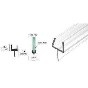Crl One Piece Bottom Rail With Clear Wipe For 3 8 Glass 32 5 8 In Long By Crl 3 58 This Ultra Clear Crl One Piece Bot Home Hardware Door Sweep Home Doors