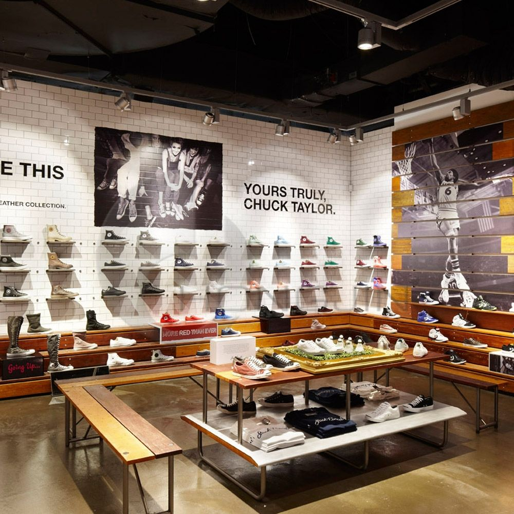 Exhibition Stand Fittings : Men shoes store wood display stand layout hongjin shop