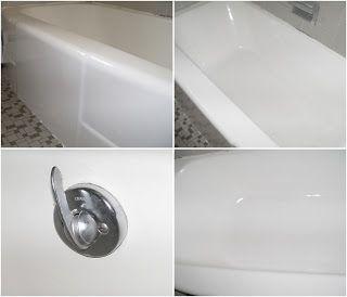 Refinishing A Bathtub Using Acrylic Tub And Tile Paint