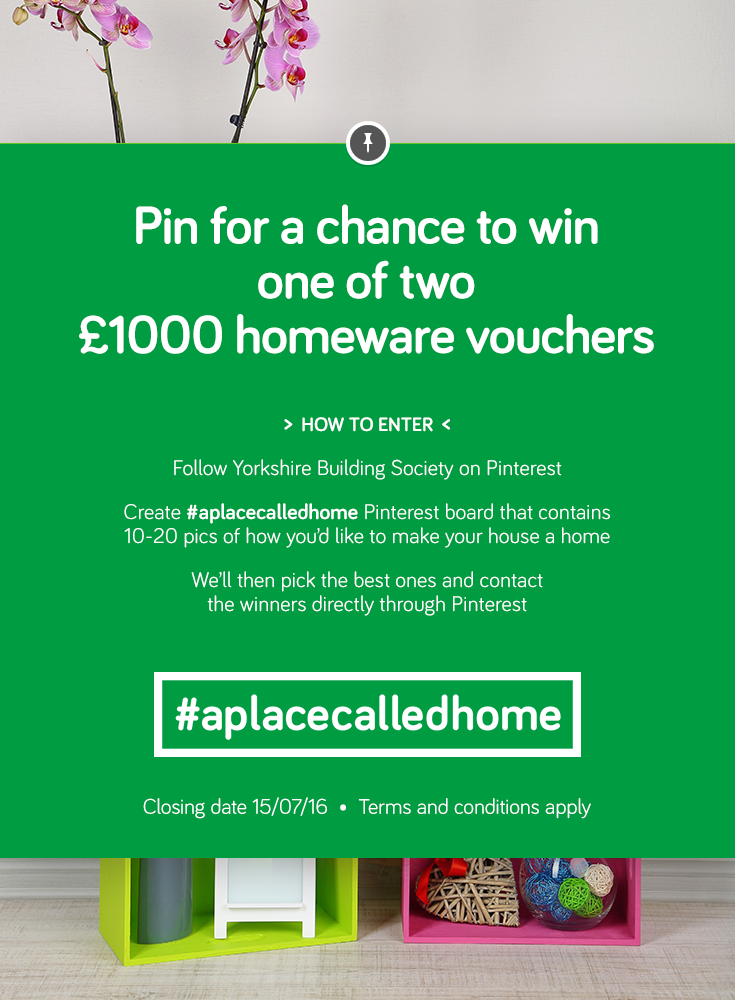 Pin For A Chance To Win One Of Two 1000 Homeware Vouchers