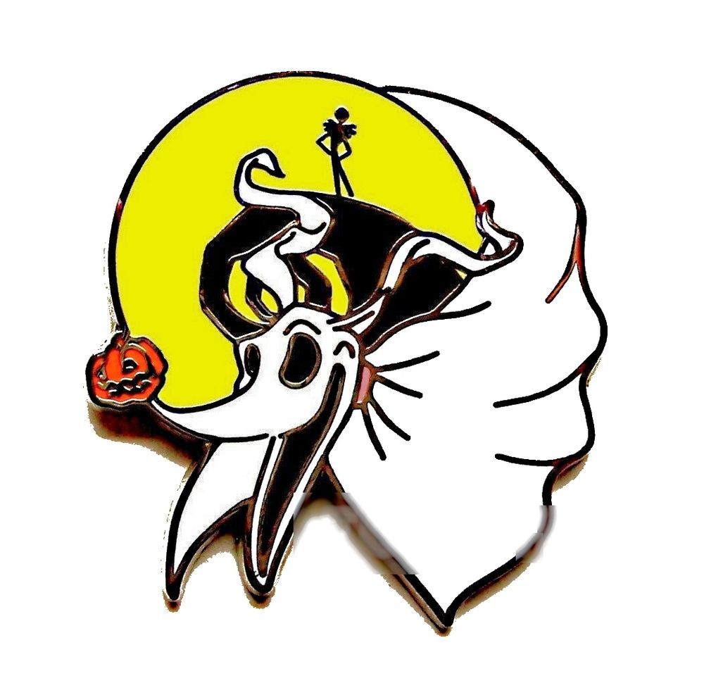 ZERO DOG JACK STARTER NIGHTMARE BEFORE CHRISTMAS DISNEY Pin | Disney ...