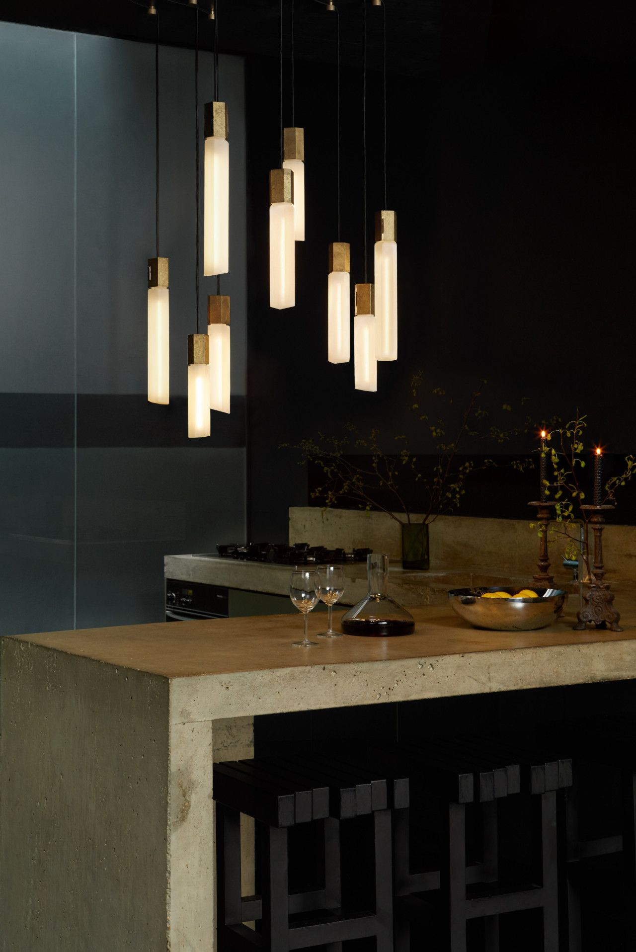 Basalt A Modular Lighting System by Tala Inspired by Rock