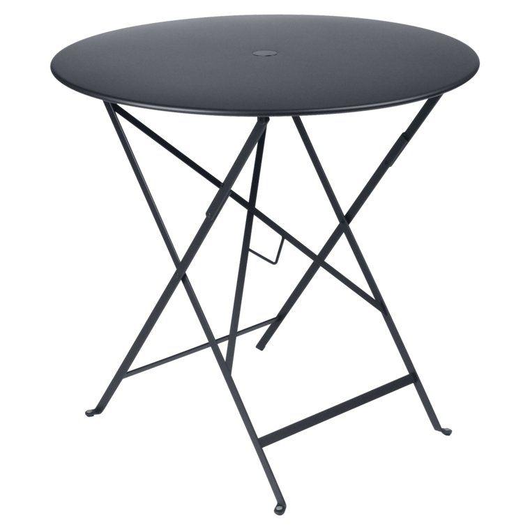 Bistro Klaptafel Rond Klapptisch Metalltische Und Tisch