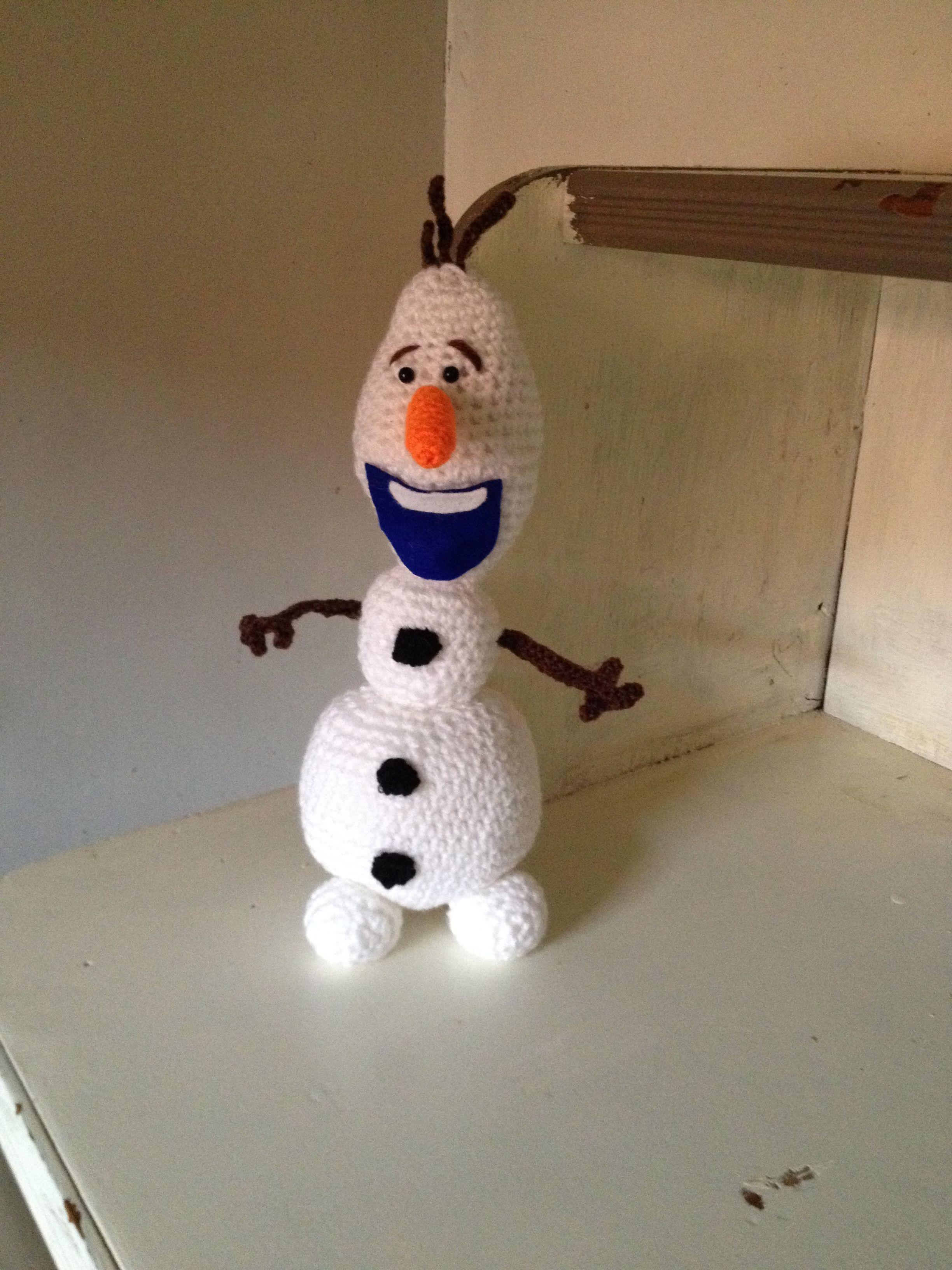 Olaf Voor Mijn Kleindochtertje Haken Amigurumi Olaf