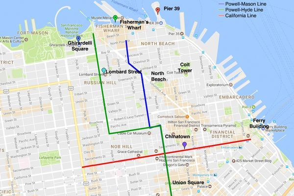 How to Ride a San Francisco Cable Car: 6 Easy Steps in 2019 ... San Francisco Cable Car Street Map on trans-siberian railroad map, chicago cable cars map, zermatt cable car map, russian hill cable car map, california cable car map, sf map, new orleans cable car map, lombard street map, alcatraz island map, muni cable car map, cable car stop map, lisbon cable car map, pier 39 map, los angeles map, emirates london cable car map, cable car route map, powell street cable car map,