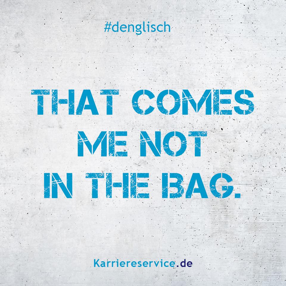 Denglisch - Redewendungen / Sprichwörter / Sprüche #fallmemes
