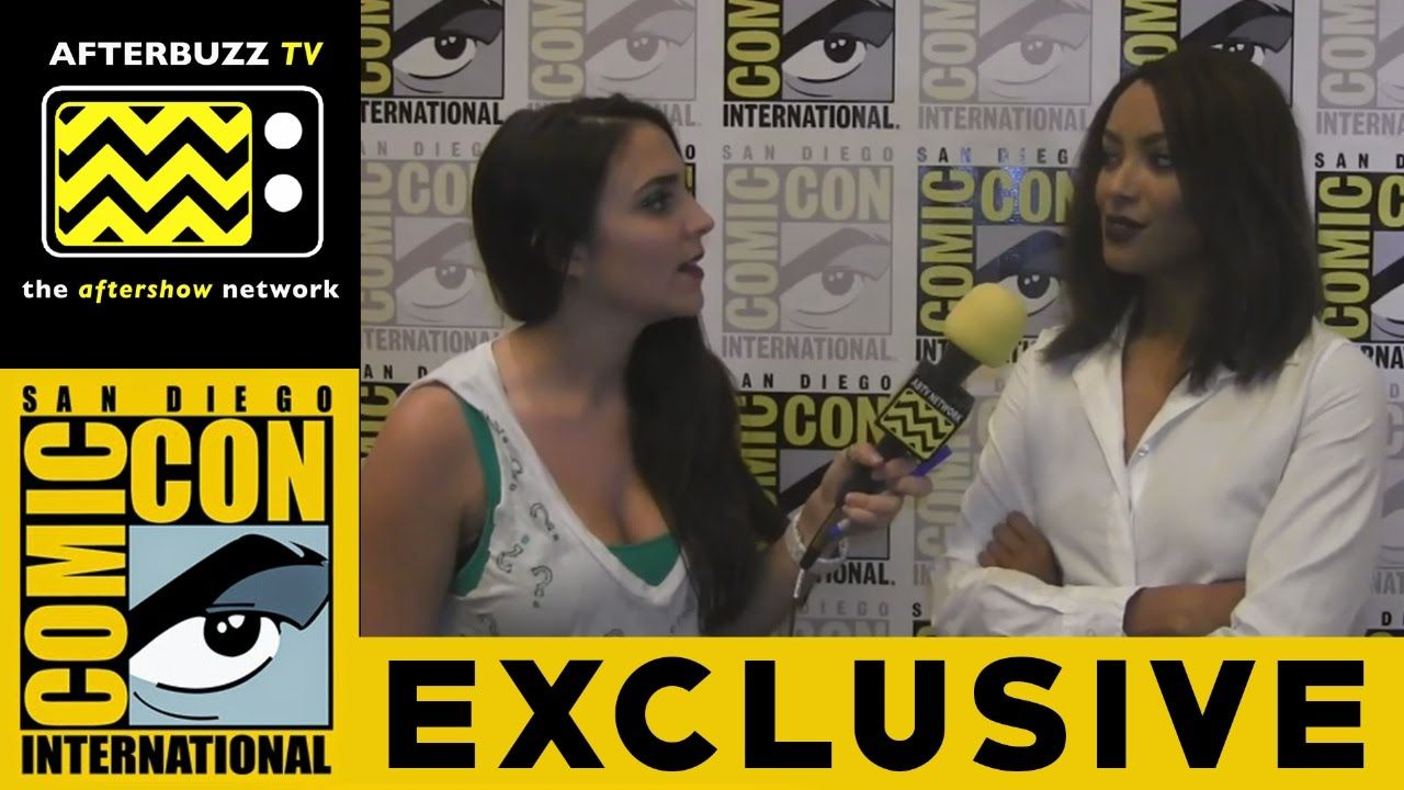 Kat Graham (The Vampire Diaries) @ 2015 San Diego Comic-Con | AfterBuzz TV