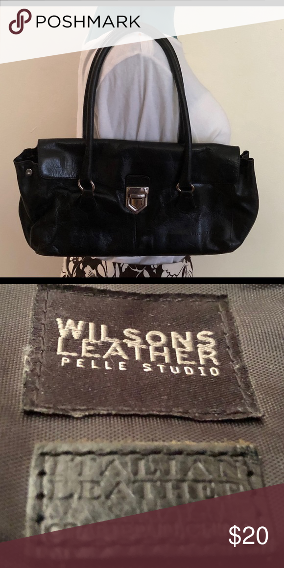 Vintage Wilson's Leather Purse Italian leather purse