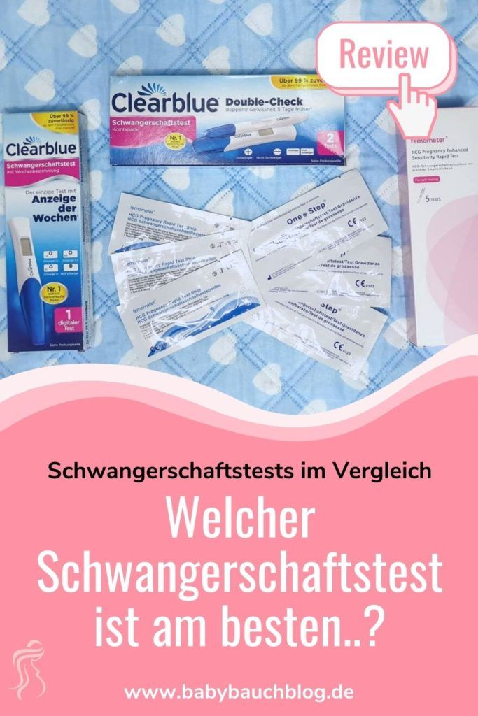 Beste Schwangerschaftstest