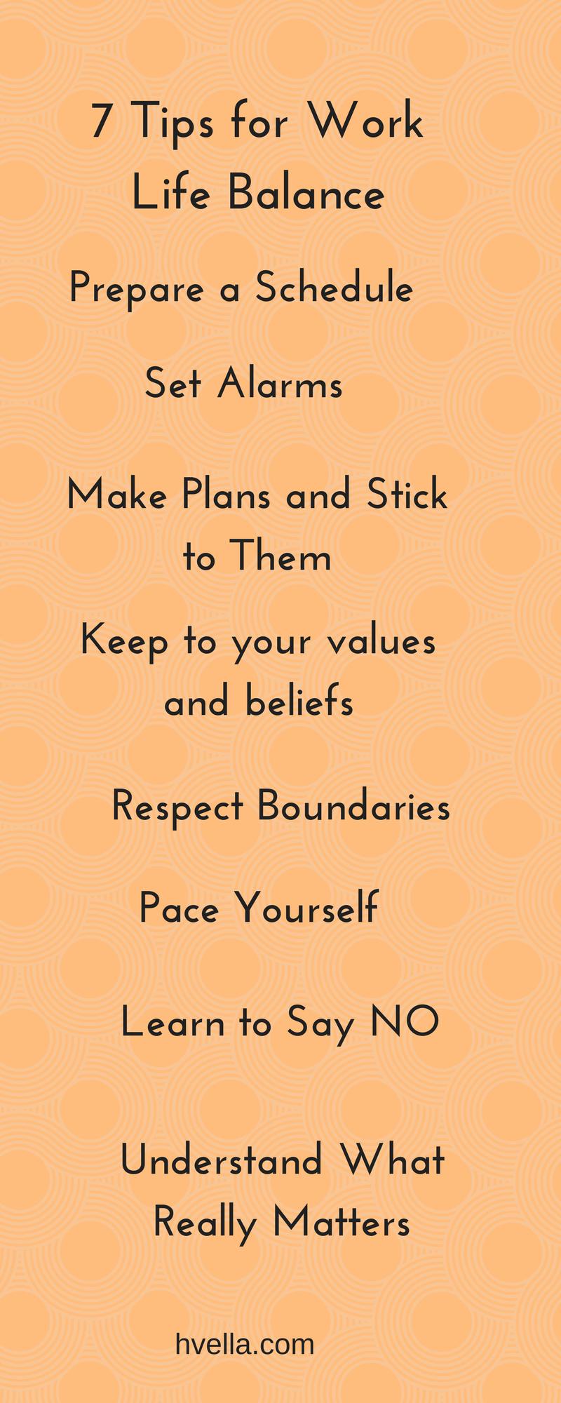 How to Achieve Work Life Balance! Life Work Balance Tips ...