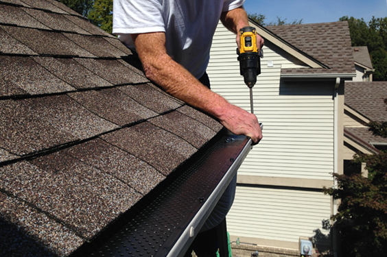 Causes Of A Leaking Roof Can Be Anything From A Broken Roof Tile To Cracked Pointing On Your Ridge Work A R Gutter Repair Cleaning Gutters Gutter Maintenance