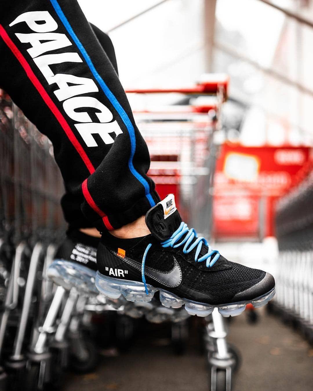 """Sneaker Freaker on Instagram  """"Better than the whites   deadstocksnkrblog  in the Off-White x Nike Air VaporMax in black. 📸   ttapreme"""" 84c12a8ca"""