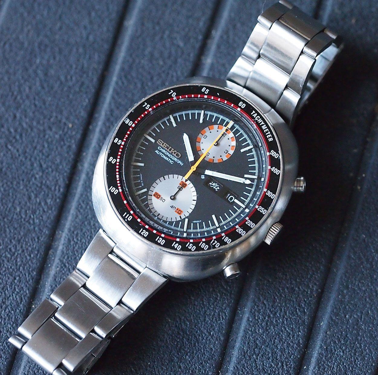 vintage seiko chronograph for sale