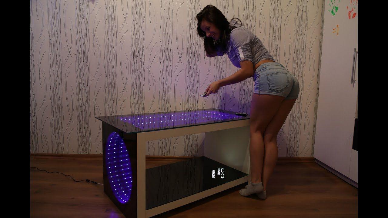 Wow Infinity Mirror 4 Ikea Table In 1 Beskonechnoe Zerkalo Stolik S Dizajn Stoleshnic Stoliki Zerkalnyj Stol [ 720 x 1280 Pixel ]