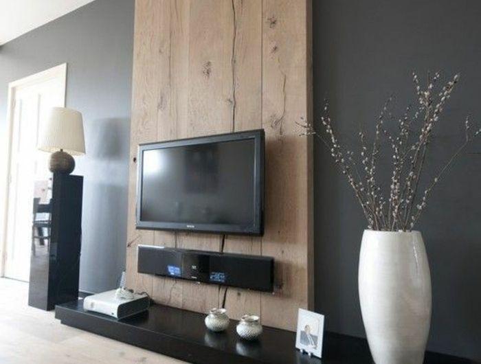 tv wand selber bauen - 80 kreative vorschläge! - archzine, Design ideen