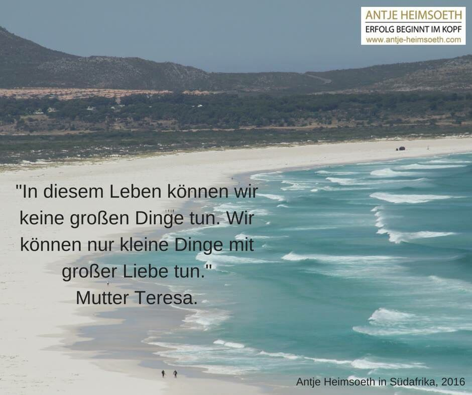 Mutter Teresa | Heimsoeth Academy | True words