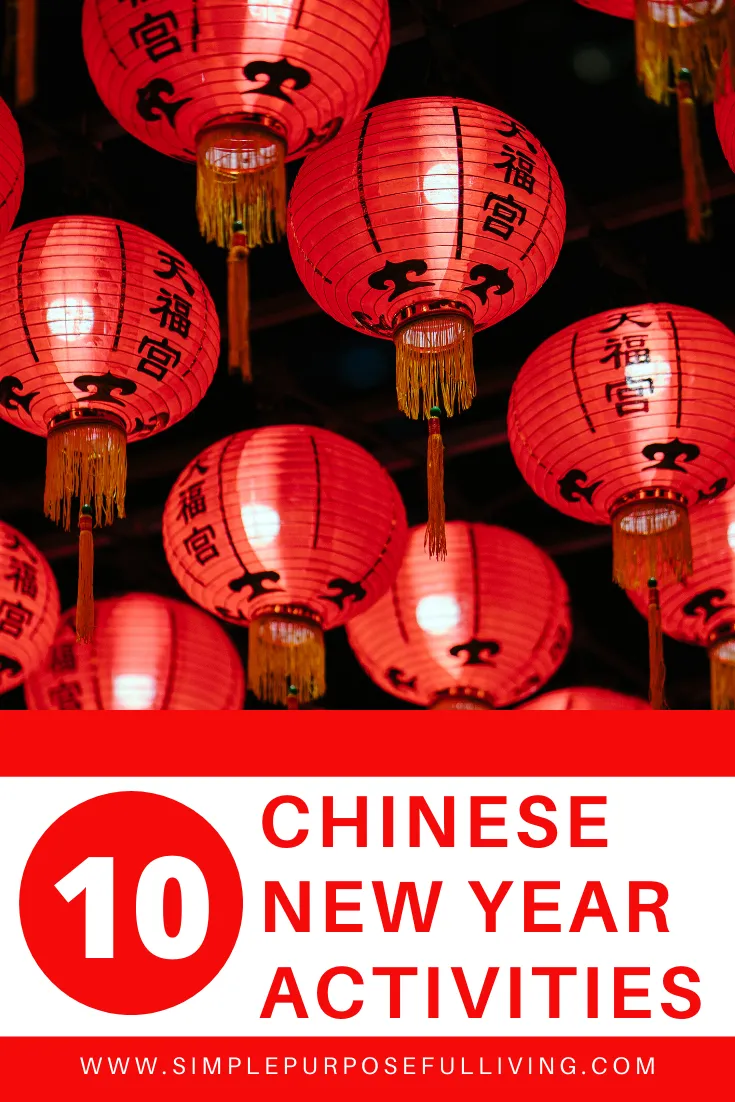10 Simple Chinese New Year Activities Chinese New Year Crafts Chinese New Year Activities New Years Activities