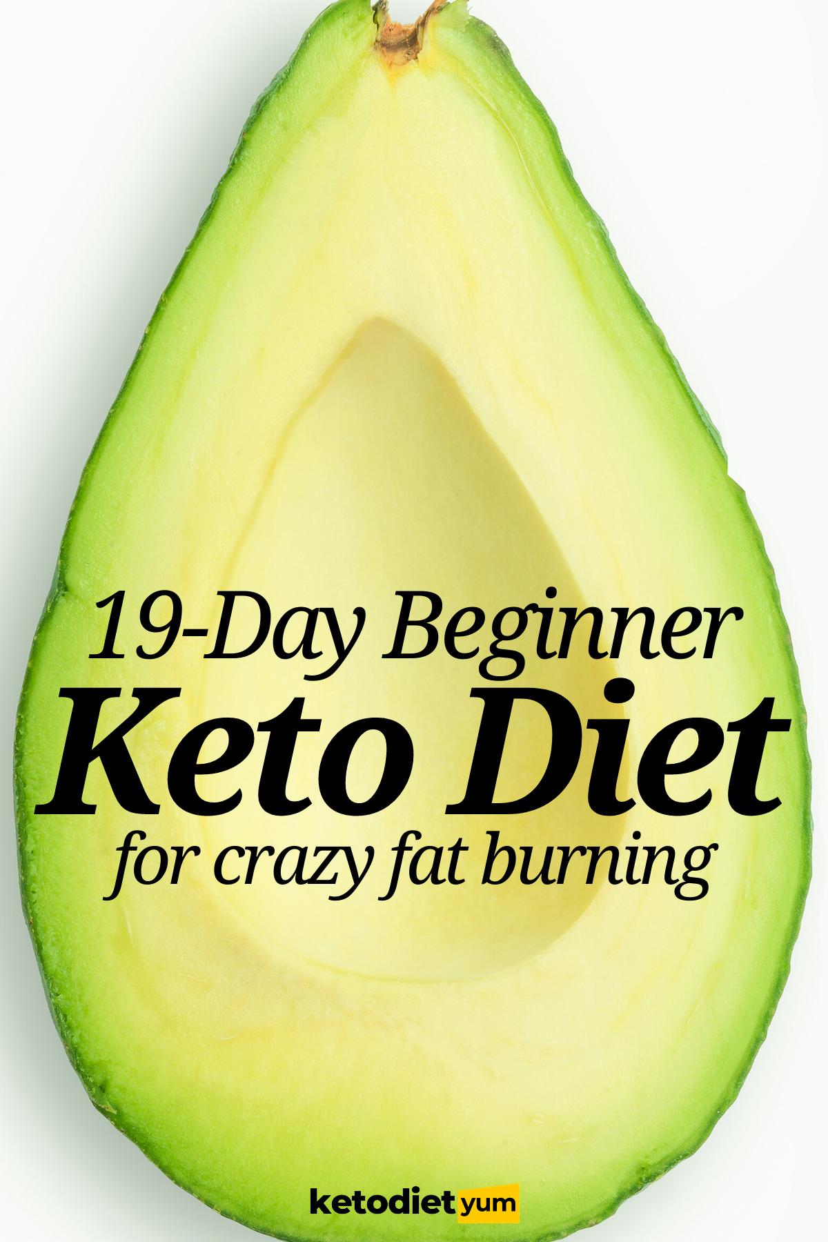 Keto Diet for Beginners: 19-Day Keto Meal Plan