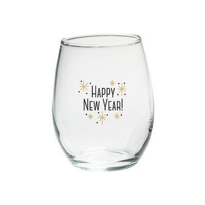Wine O'Clock 15 oz. Stemless Wine Glass