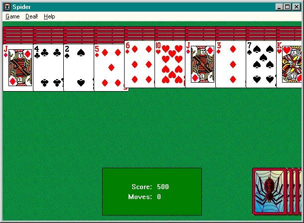 Spider Solitaire That Comes