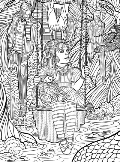 Best Halloween Coloring Books for Adults | Coloring books ...