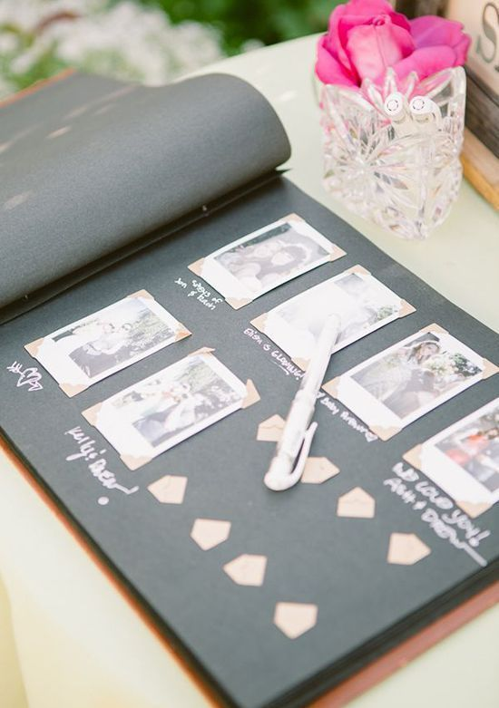 20 Unique Guest Book Ideas Pinterest Guestbook, Wedding and Wedding