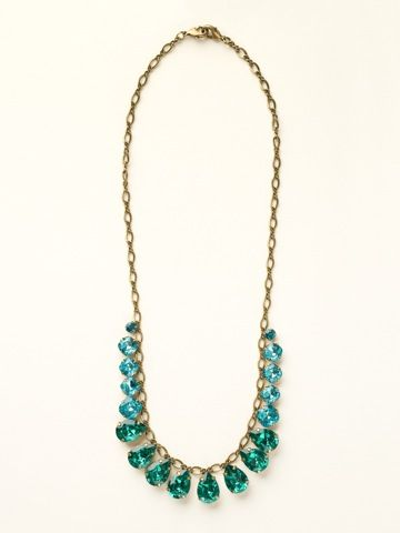 Peared to Perfection Necklace in Happy Birthday by Sorrelli - $235.00 (http://www.sorrelli.com/products/NCR118AGHB)