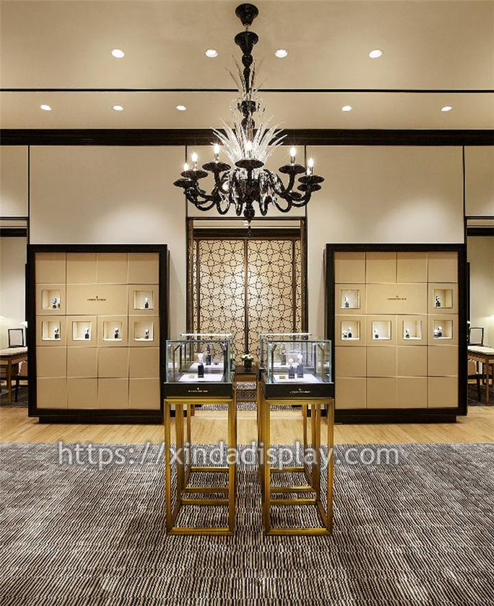 Luxury Brand Watch Showroom Design Watch Store Fixtures Retail