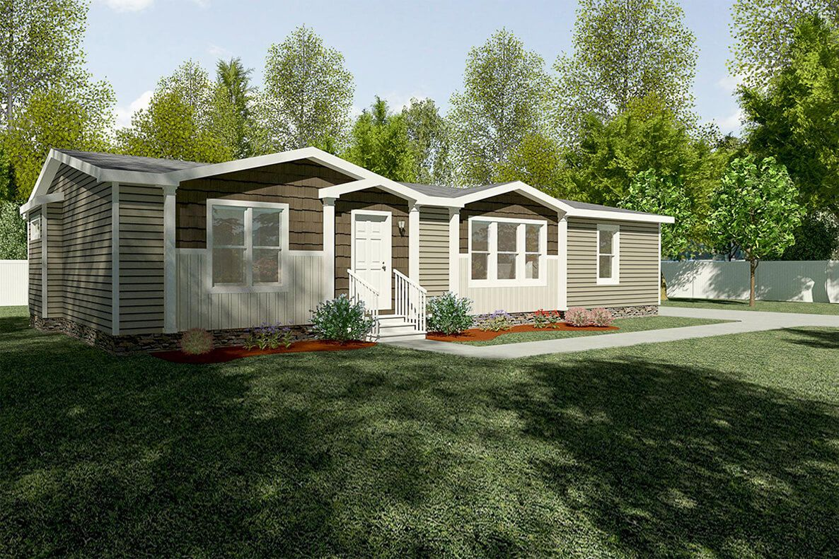 The Patriot Clayton Homes Mobile home exteriors, New