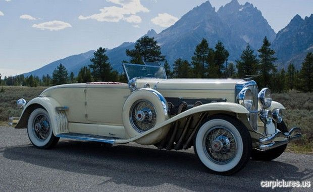 1930 Duesenberg Model J Convertible Coupe Old Classic Cars