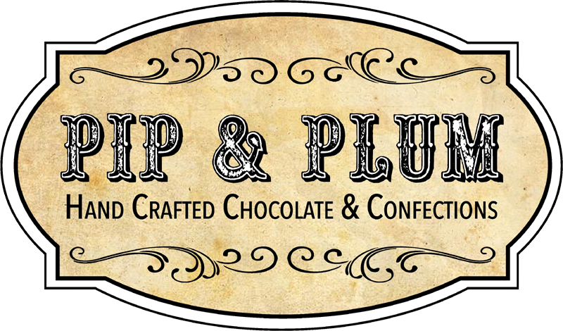 Pip & Plummy own chocolate company Chocolate company