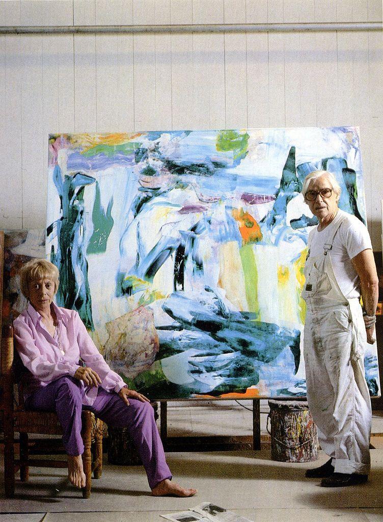 Elaine and Willem de Kooning 1982 (With images) De