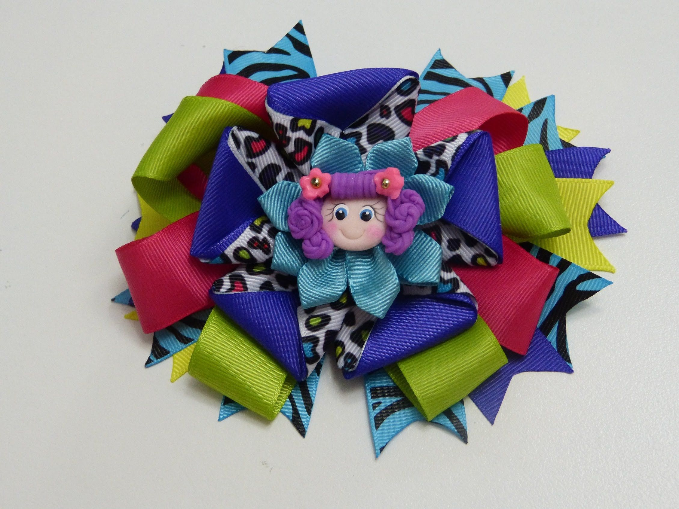 Como hacer lazo dobleHow To Make a Hair Bow Make Simple Easy Bow