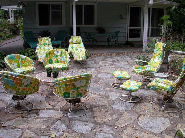 homecrest vintage patio furniture exterior home inspiration