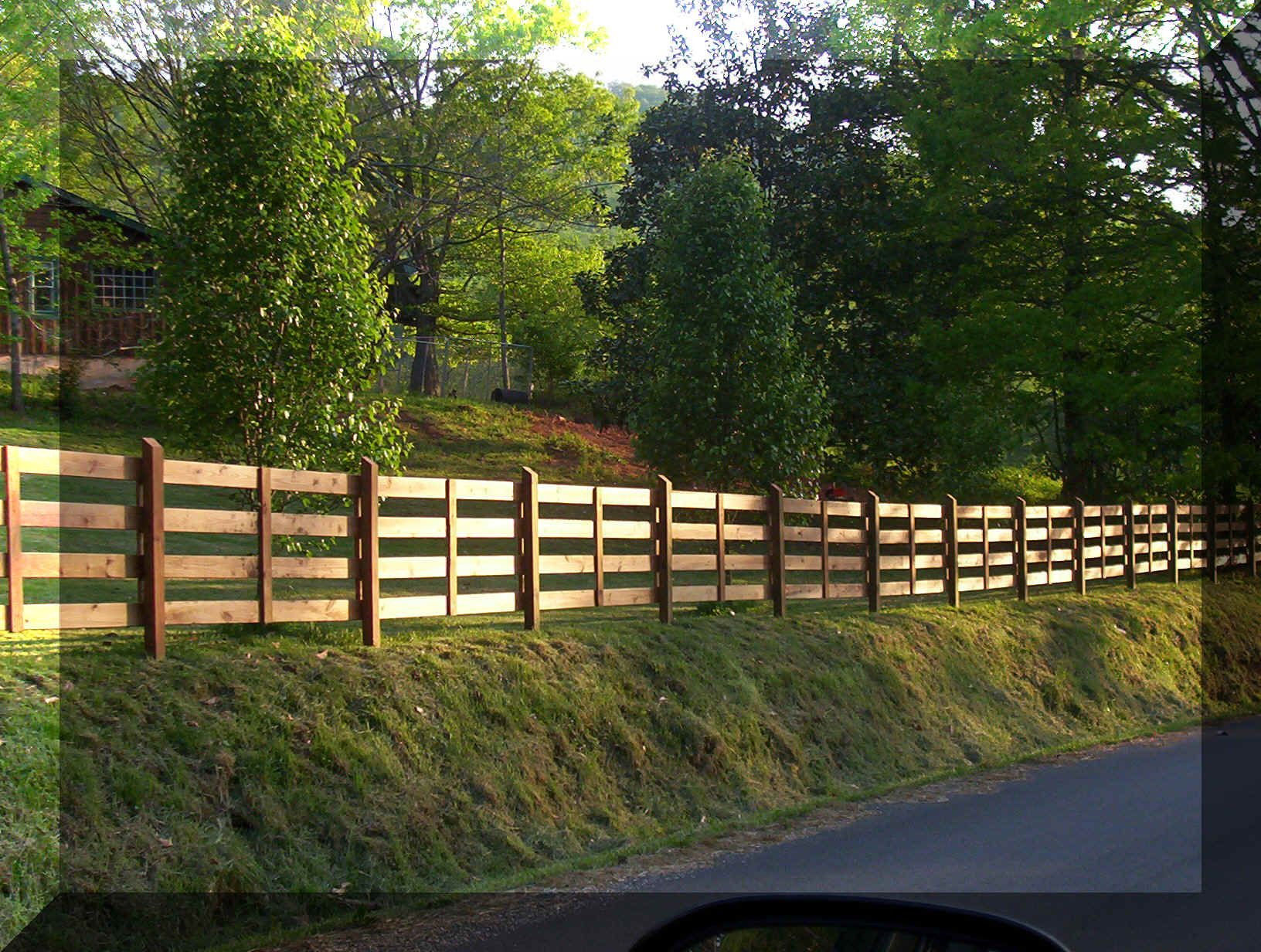 wooden farm fence. Fence Ideas | Farm Fencing Information And Supplies Wooden