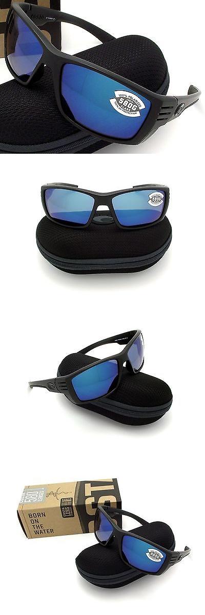 ddc715f02b7 Sunglasses 151543  New Costa Del Mar Cortez Blackout And 580 Blue Mirror  Glass 580G -